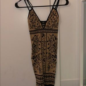 Free People Pattern Bodycon Dress
